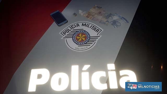 Foram localizados e apreendidos 4 gramas de crack, 4 gramas de maconha, além de R$ 63,00 em dinheiro.  Foto: MANOEL MESSIAS/Agência