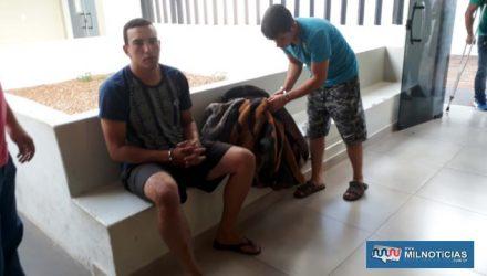 Ex-operário C. V. S. S., foi indiciado por tráfico de entorpecentes e foi liberado pela Justiça em audiência de custódia. Foto: MANOEL MESSIAS/Agência