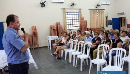 Secretário de Saúde palestra para Associação dos Aposentados da Fundação Cesp. Foto: Secom/Prefeitura