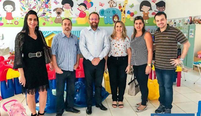 Parceria entre as duas instituições se fortalece cada dia mais e coloca Andradina como polo Universitário. Foto: DIVULGAÇÃO