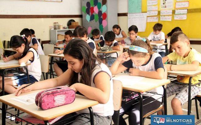 Secretaria Municipal de Educação vai recepcionar os cerca de 5 mil alunos. Foto: Secom/Prefeitura
