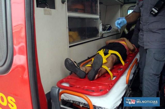 Já a passageira do GM Kadett reclamava de dores no tórax e teve a pressão arterial alterada, já que é hipertensa. Foto: MANOEL MESSIAS/Agência