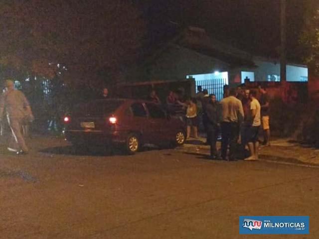 Motorista do Kadett entrava na garagem de sua casa quando aconteceu o acidente. Foto: Arquivo familiar