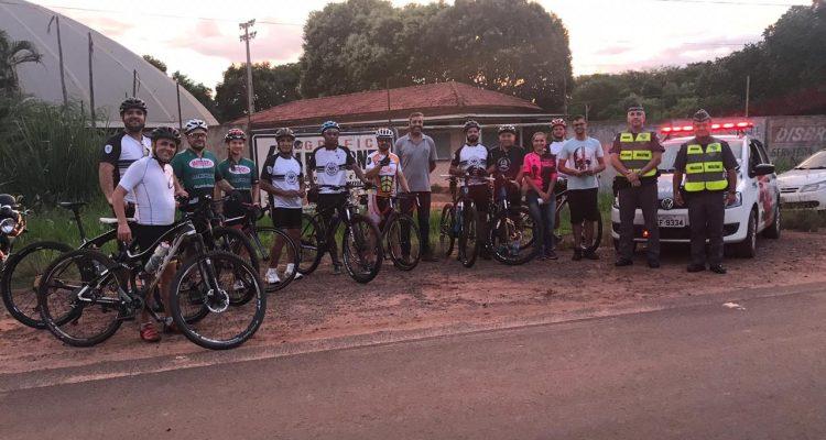 Evento tem por objetivo conscientizar ciclistas, motociclistas e motoristas quanto às normas de segurança; Fotos:DIVULGAÇÃO