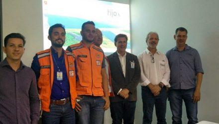 Capacitação foi na sede da empresa Tijoá Energia. Foto: Secom/Prefeitura