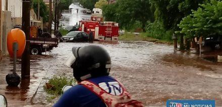 Rua Espírito Santo, entre as ruas Marechal Deodoro com Humberto de Campos sofreu novamente com a enchente. Foto: DIVLUGAÇÃO