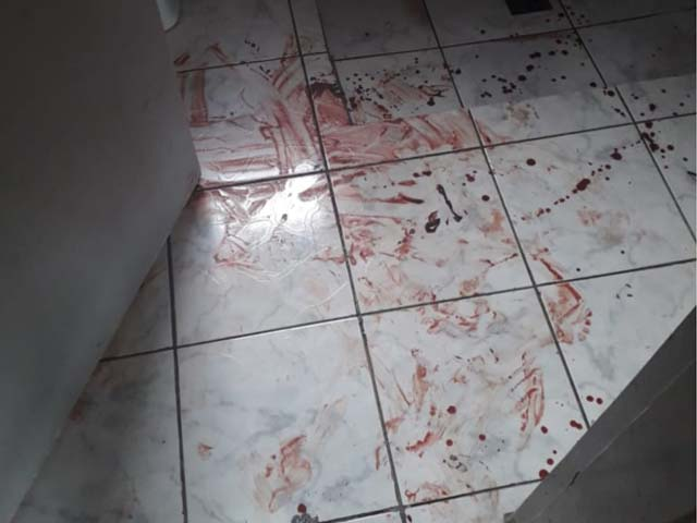 Tentativa de feminicídio foi registrada em Araçatuba (SP) — Foto: Arquivo Pessoal