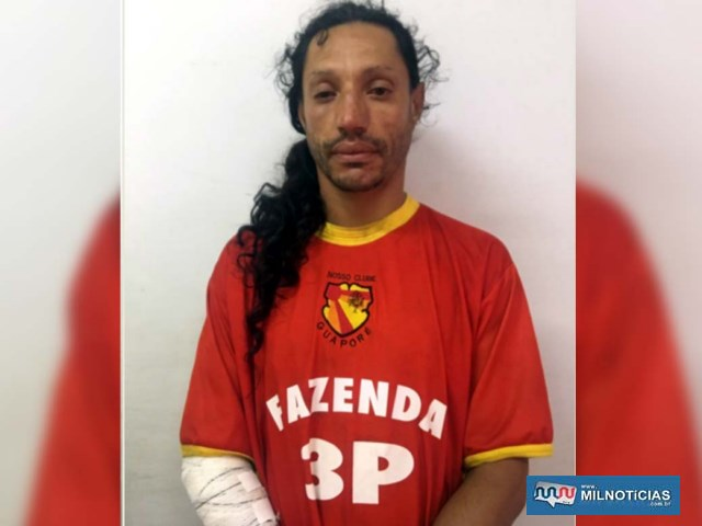 Homossexual foi indiciado por furto qualificado e permaneceu recolhido para ser ouvido em audiência de custódia. Foto: DIVULGAÇÃO