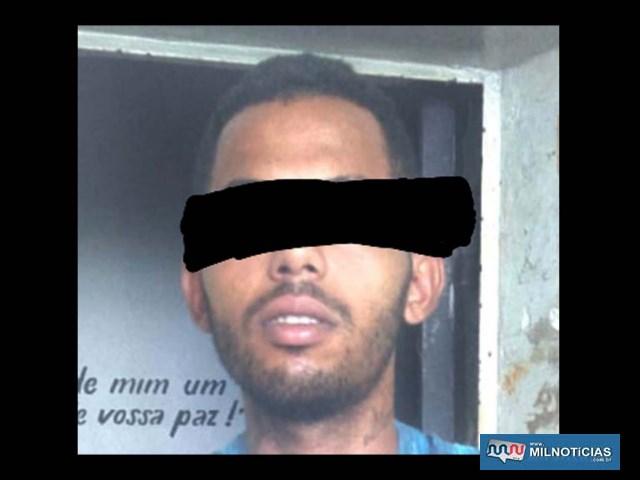 Ajudante geral Nicolau dos Santos foi indiciado por furto e recolhido à carceragem do plantão até audiência de custódia. Foto: DIVULGAÇÃO