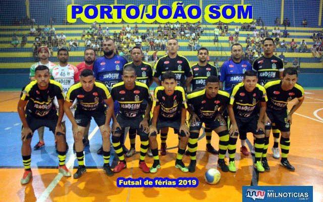 Porto/João Som é um dos finalistas do Futsal de férias 2019. Foto: MANOEL MESSIAS/Mil Noticias