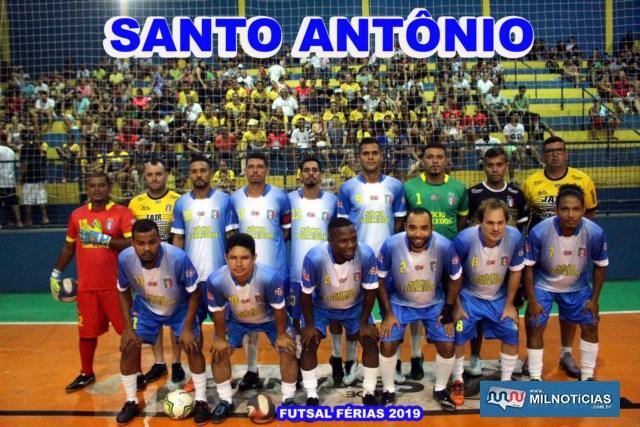Equipe do Santo antônio é a outra finalista do Futsal de Férias 2019. Foto: MANOEL MESSIAS/Mil noticias