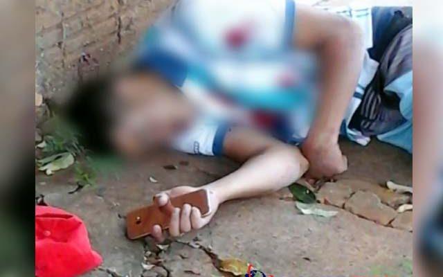 Luís Souza, 20 anos,  foi assassinado com tiros na cabeça. Foto: Regional Press