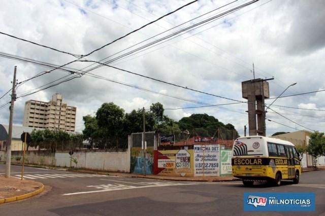 Ação criminosa aconteceu a 100 metros das duas escolas, a JBC (foto) e Àlvaro Guião. Foto: MANOEL MESSIAS/Agência