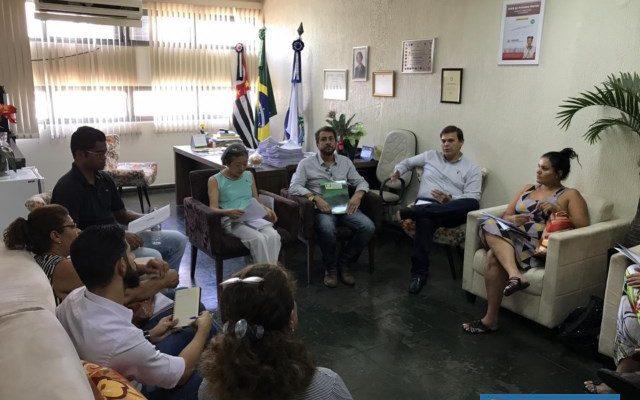 Reuniu serviu para dar inicio ao projeto Natal Iluminado 2019. Foto: DIVULGAÇÃO
