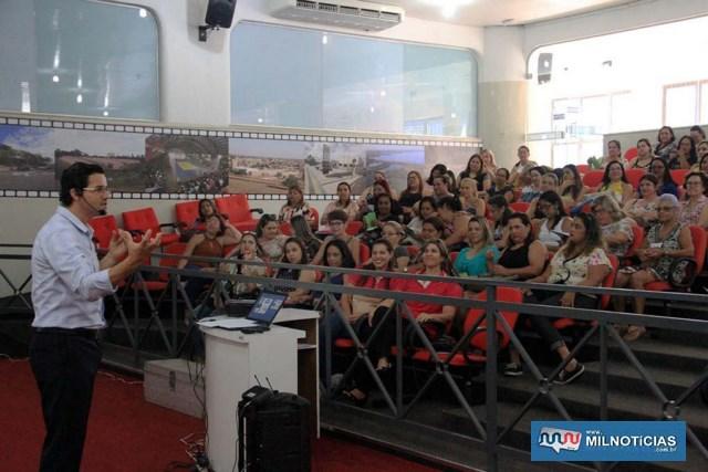 A Secretaria Municipal de Educação (SME) realizou o Planejamento Escolar da Rede Municipal para o ano de 2019. Foto: Secom/Prefeitura