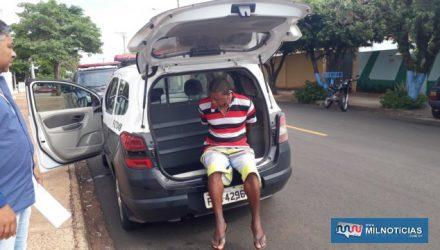 Acusado foi indiciado por tráfico de entorpecentes, permanecendo a disposição da justiça. Foto: MANOEL MESSIAS/Agência