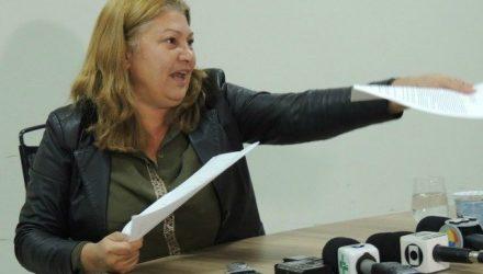 Vereadora Marisa Rocha (PSB), que atualmente está à frente da Secretaria Municipal de Esporte, Juventude e Lazer (SEJUVEL). Foto: Radio Cacula