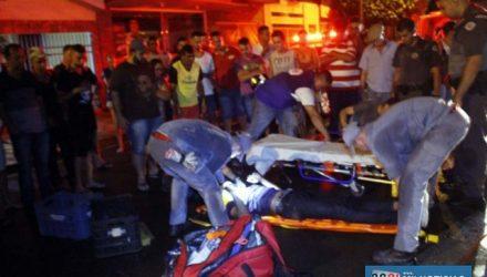 Apesar da gravidade do acidente, estudante fraturou apenas o tornozelo direito. Foto: MANOEL MESSIAS/Agência