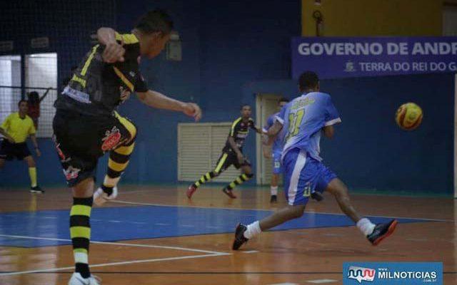 Time de Andradina que estréia na Copa Record de Futsal traz atletas destaques nas competições municipais. Foto: Secom/Prefeitura