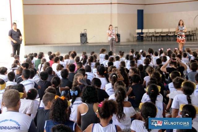 """Palestra, teatro e até musicais fecham """"Todos contra a dengue"""" no Maria Vera. Foto: Secom/Prefeitura"""