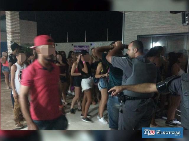 Várias pessoas que estavam na festam incluindo muitas adolescentes, foram encaminhadas ao plantão e depois liberadas. Foto: DIVULGAÇÃO
