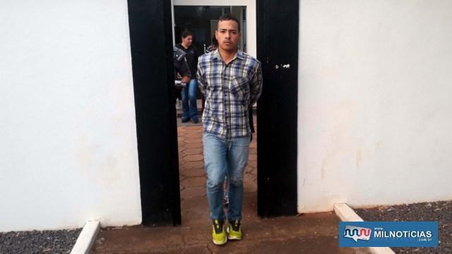 Um dos presos é Marlon Mateus, que já esteve envolvido na guerra de jovens de gangues de bairro e tinha MP em seu desfavor. Foto: MANOEL MESSIAS/Agência