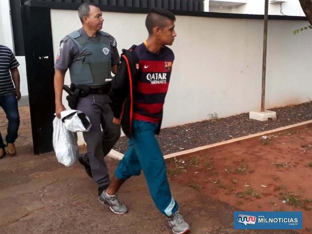 Ajudante geral Luis Ferreira Ramos, de 21 anos. Foto: MANOEL MESSIAS/Agência