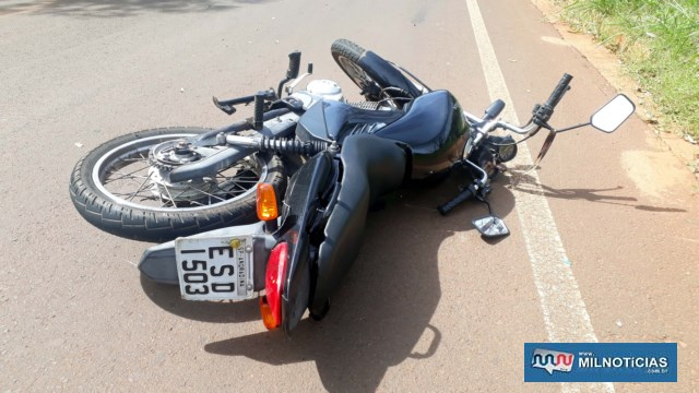 Jovem foi morto quando pilotava sua motocicleta Titan 150cc, por uma estrada vicinal. Foto: MANOEL MESSIAS/Agência