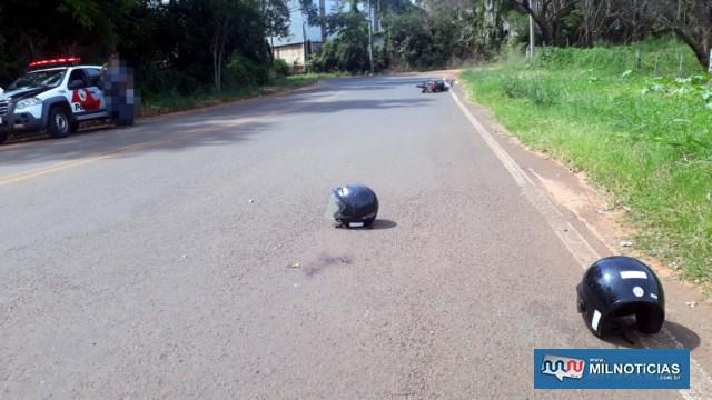 Crime aconteceu na estrada vicinal de acesso à penitenciária de Andradina. Foto: MANOEL MESSIAS/Agência