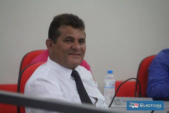 Vereador Silas Carlos Oliveira