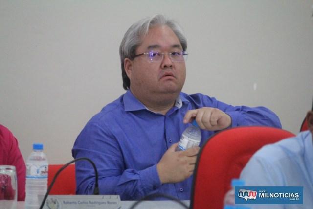 Vereador Márcio Makoto Izumi