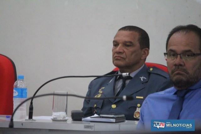 Vereador sargento Sérgio Faustino Teixeira