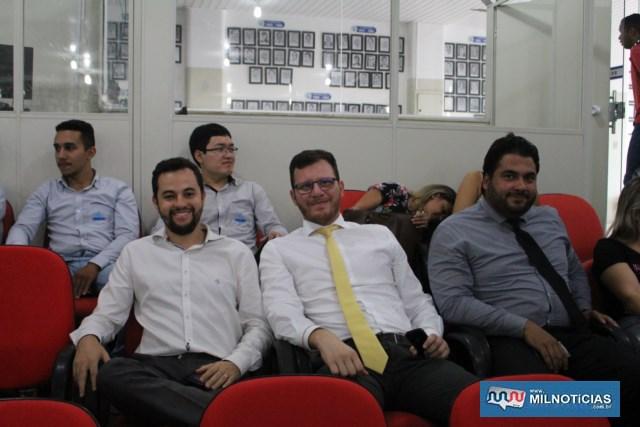 Advogados presentes pela importância do evento