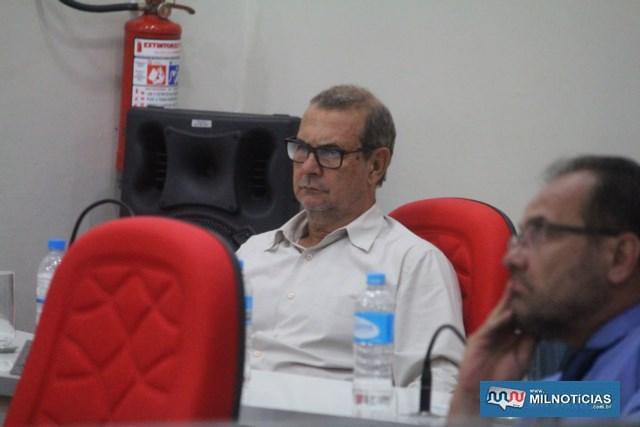 Vereador José Augusto Rosa