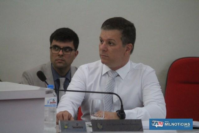 Guto Marão, 2º Secretário