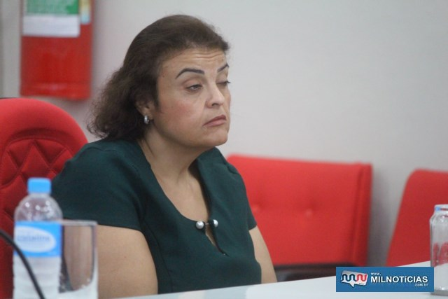 Vereadora Cláudia Ribeiro