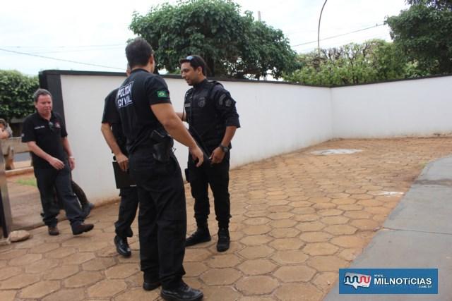A operação contou com a participação de 350 policiais civis apoiados em cada região do Estado, Policiais Civis de Minas Gerais e Promotores de Justiça do Ministério Público do Estado de São Paulo. Foto: MANOEL MESSIAS/Mil Noticias