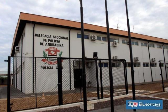 Operação em Murutinga foi finalizada na Delegacia Seccional de Andradina. Foto: MANOEL MESSIAS/Mil Noticias