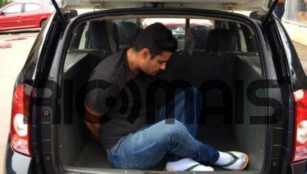 Ricardo Seidi foi detido (Foto: Alexandre Oshima/Rictv PR)