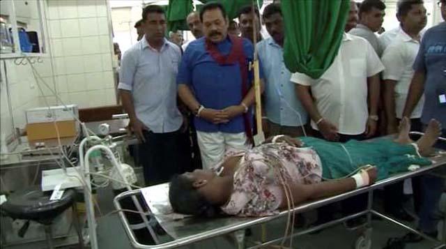 Veja imagens impressionantes da matança no Sri Lanka. Foto: DeranaTV / Reuters