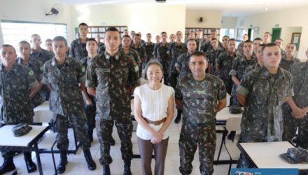 Marco Antônio é um soldado atleta do Exército Brasileiro. Foto: Secom/Prefeitura