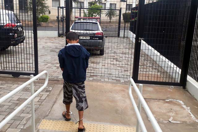 O delegado determinou a apreensão do menor, que ficou à disposição da Justiça. Foto: Sílvio Romero/Regional Press