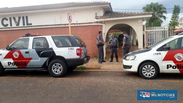 Ocorrência foi encaminhada inicialmente para a DISE e depois direcionada para o plantão policial. Foto: MANOEL MESSIAS/Agência