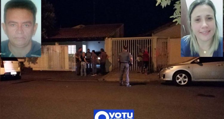 Luiz Lau, de 59 anos, efetuou um disparo de revólver calibre 32 contra à nuca de Silvéria Botelho, 37 anos e depois se matou. Foto: Votunews