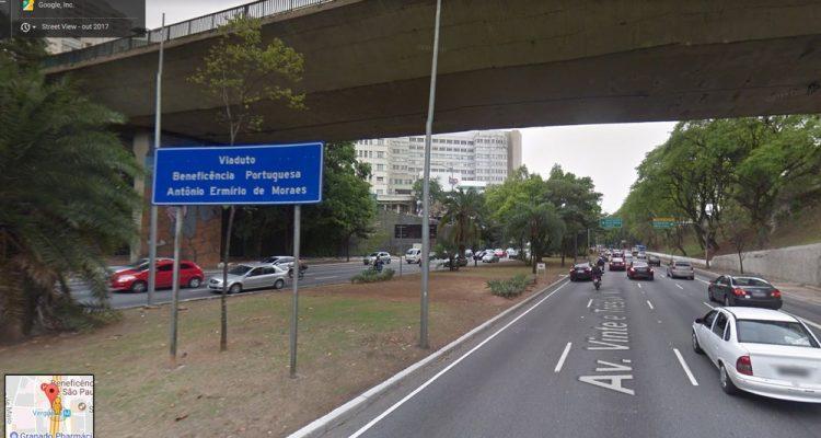 Avenida 23 de Maio — Foto: Reprodução/Google Maps.