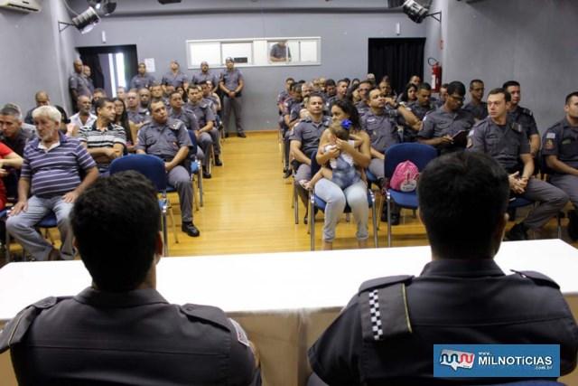 Cerimônia de valorização profissional militar aconteceu segunda-feira, 29-04. Foto: MANOEL MESSIAS/Mil Noticias