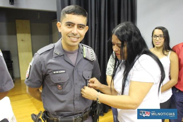 Láureas do Mérito Pessoal em 4º GRAU: Soldado PM Paulo Sérgio Costa de Alencar. FOTO: MANOEL MESSIAS