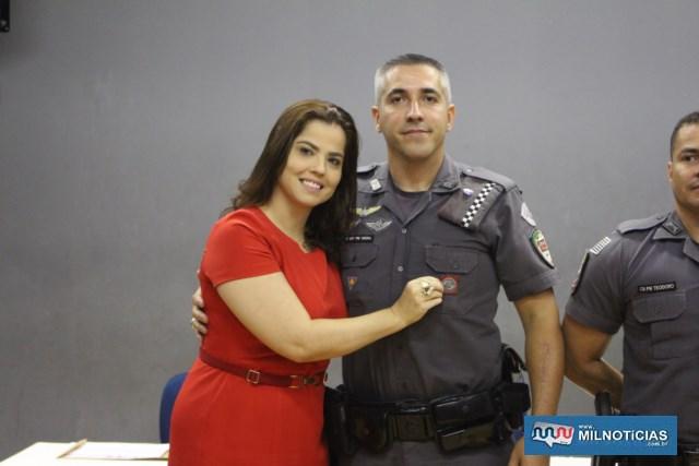 Láureas do Mérito Pessoal em  3º GRAU. 1º sargento PM Fernando Ramos Vieira. FOTO: MANOEL MESSIAS