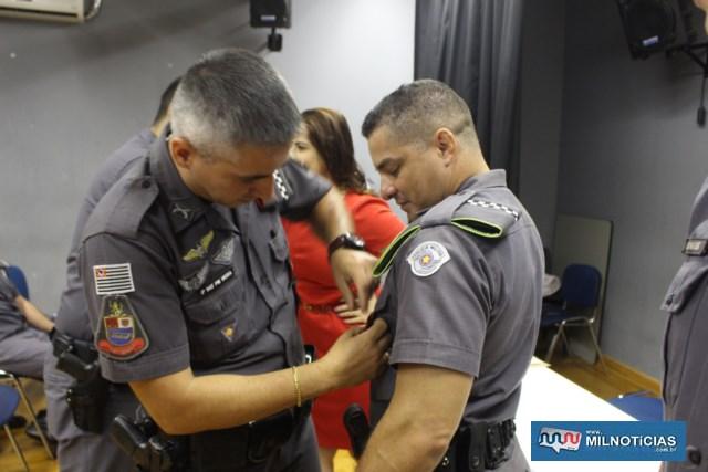 Láureas do Mérito Pessoal em 3º GRAU. Cabo PM Rodrigo Veríssimo Teodoro. FOTO: MANOEL MESSIAS