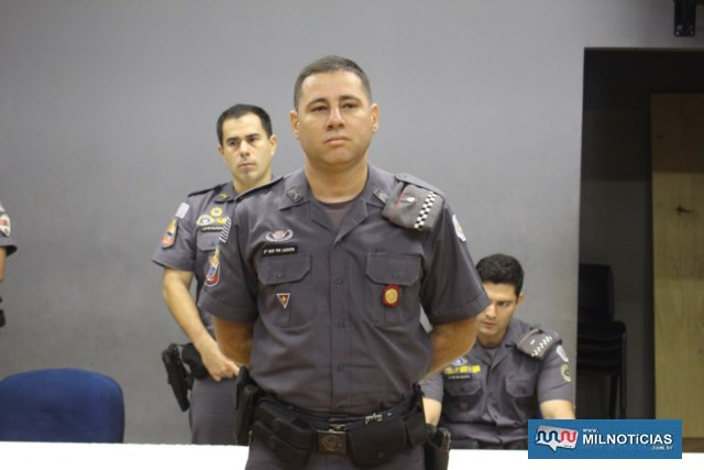 PM DESTAQUE INDIVIDUAL JANEIRO/19: 2º sargento PM Lucato. Foto: MANOEL MESSIAS/Mil Noticias